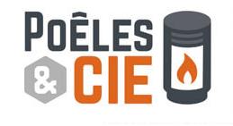 logo-Poêles et Cie | Installateur Cheminée - Poêle - Bain De Bretagne