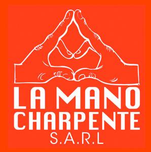 logo-La Mano Charpente | Charpentier - Construction Ossature Bois Orvault