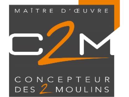 logo-C2M | Maître d'œuvre - Constructeur Maison - Les Herbiers