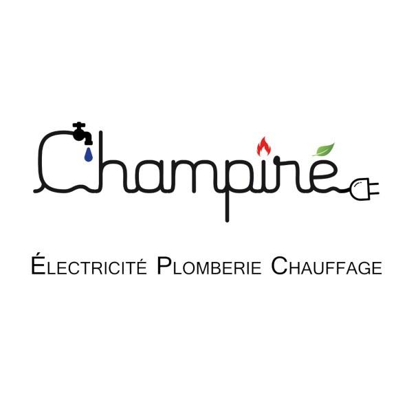 logo-Champiré   Plombier - Électricien St Melaine Sur Aubance