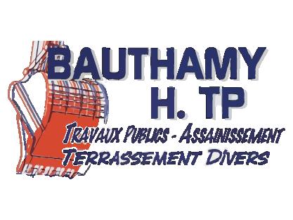 logo-Bauthamy H TP | Assainissement -  Terrassement - Avessac
