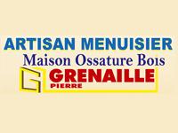 logo-Grenaille Pierre   Menuisier Champagne les Marais