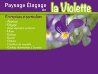 logo-Paysage Élagage de la Violette | Paysagiste - Beaucouzé - Avrillé