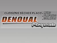 logo-Denoual Plaquiste | Isolation par soufflage Landean - Fougères