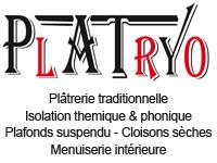logo-Platryo | Plâtrier - Plaquiste Prinquiau