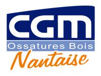 logo-CGM Ossature bois Nantaise | Charpentier Clisson - Vallet