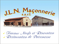 logo-JLN Maçonnerie | Maçon - Couvreur - Legé - Touvois