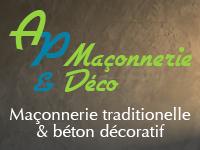 logo-AP maçonnerie & déco | Béton Décoratif - Maçon - Vallet