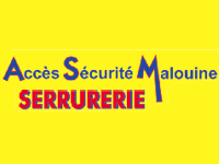 logo-Accès Sécurité Malouine | Serrurier Portail - Plerguer - Saint Malo