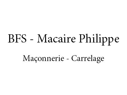logo-BFS - Macaire Philippe | Artisan maçon Bois De Céné - Challans