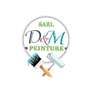 logo-D&M Peinture | Peintre en bâtiment Nieul-le-Dolent