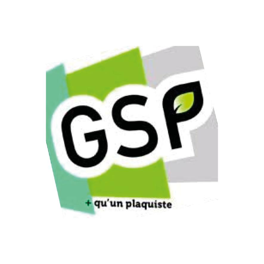 logo-GSP Giret Sébastien   Plaquiste - Isolation - Champigné - Montreuil