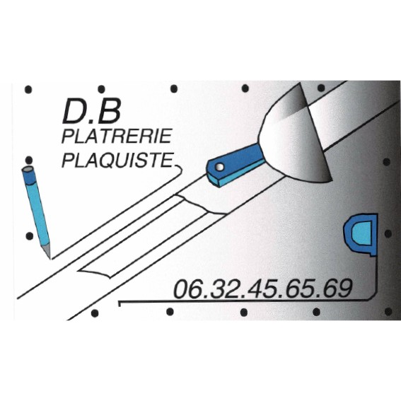 logo-DB Plâtrerie   Plâtrerie - Isolation Amboise - Nazelles-Négron