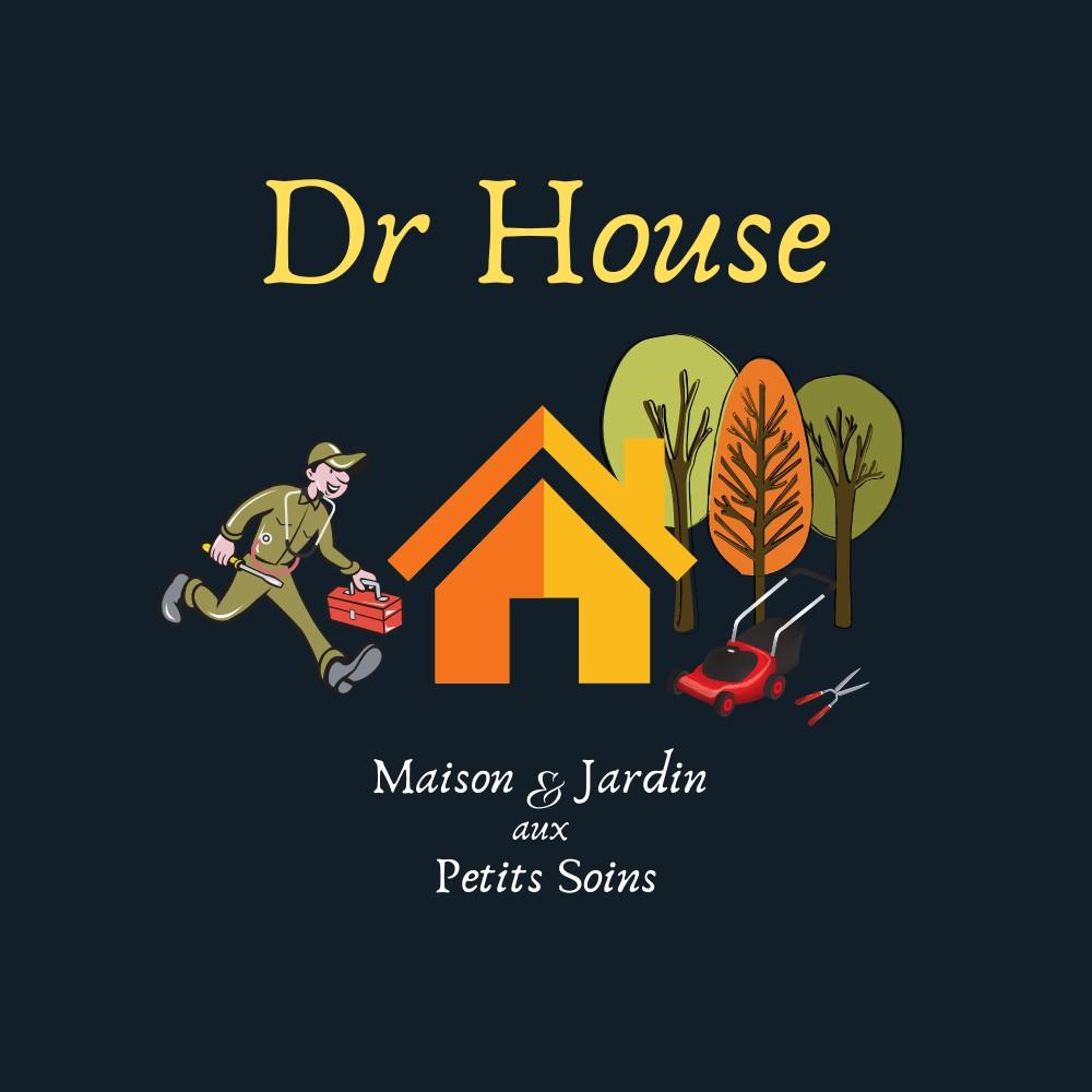 logo-Dr HOUSE - Maison & Jardin   Paysagiste Athée-sur-Cher