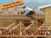 logo-Sarl Devaud | Charpentier - Menuisier - Ossature Bois - Allonnes