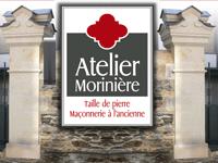 logo-Atelier Moriniere   Maçon - Tailleur de Pierre - Brissac Quincé