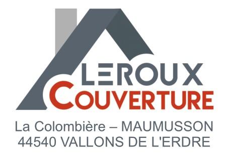 logo-Leroux Couverture | Couvreur Maumusson