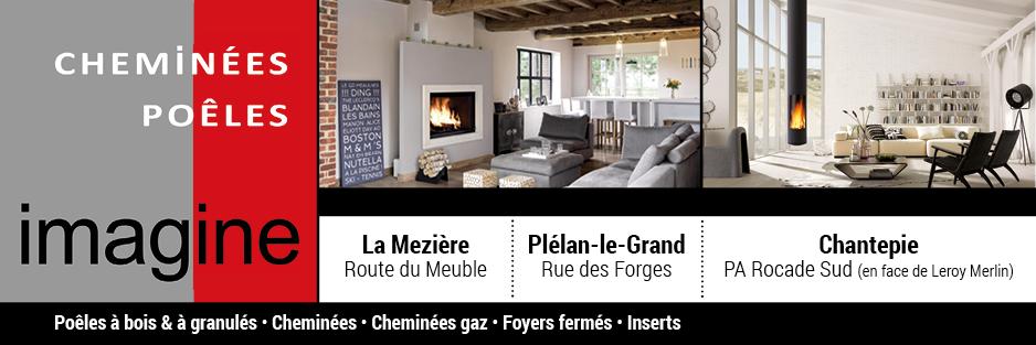 logo-Cheminées Imagine | Pose insert - Cheminée - Chantepie - Plélan le Gd
