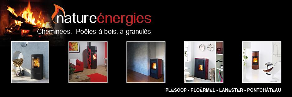 logo-Nature Énergies | Cheminée - Poêle Bois / Granulés - Pontchâteau