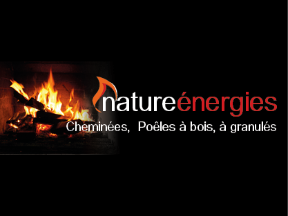 logo-Nature Énergies | Cheminée - Poêle bois - Granulés - Plescop