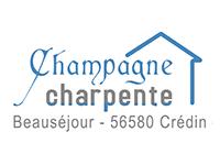 logo-Champagne Charpente | Terrasse bois - Crédin - Pontivy