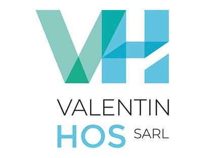 logo-Valentin HOS   Paysagiste - Terrassement piscine - St-Martin-le-Beau