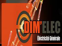 logo-Dim' Elec | Electricien St Jacques de la Lande