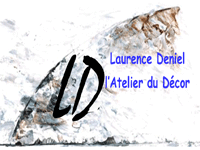 logo-L'Atelier du Decor - Deniel Laurence | Peintre Cordemais