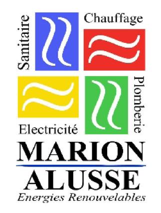 logo-Marion Alusse   Chauffage - Electricité - Plomberie - Candé