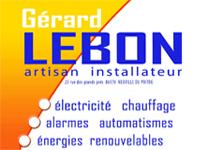 logo-Lebon Gérard | Électricien Loudun - Neuville de Poitou