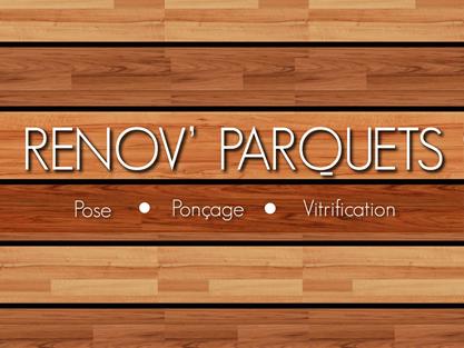 logo-Renov parquets | Vernissage - Poncage - Auray -  Vannes - Lorient